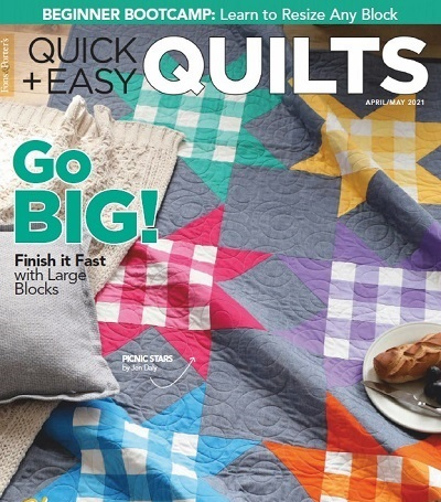 Quick & Easy Quilts - April/May 2021